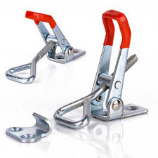 4001 Toolbox Case Durable Metal Toggle Latch Catch Clamps Clasp 9.5cm