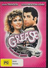 GREASE (1978) John Travolta, Olivia Newton-John - 2 DISC DVD R4 + Songbook