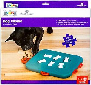 Nina Ottosson by Outward Hound Dog Casino Interactive Treat Puzzle Dog Toy NEW