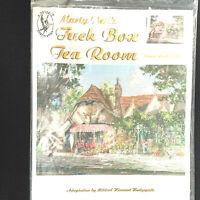 Marty Bell's Cross Stitch Chart Tuck Box Tea Room Mildred Hinnant Hedgepath 2000