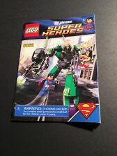 Lego Super Heroes 6862 Superman Vs Power Armour Lex Luther Manual ONLY