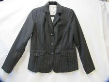 Womens Suit Pinstripe Suit 3 Pieces Isaac Mizrahi for Target Size 8