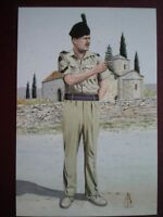 POSTCARD 1ST BN THE ROYAL IRISH REGT  - LANCE CORPORAL NO 7 DRESS CYPRUS 1993