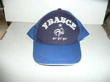 FRANCE FOOTBALL FEDERATION BASEBALL HAT ** EQUIPE DE FRANCE ** YOUTH SIZE ** NEW