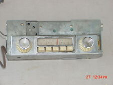 1962 Plymouth MoPar AM RADIO With NICE KNOBS Good Used