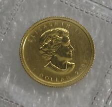 2009 CANADA 9999  GOLD  $1 DOLLAR MAPLE LEAF  1/20 oz.  CAMEO LOW MINTAGE
