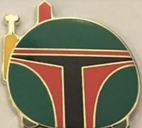 Star Wars Disneyland Galaxy Disney Pin 120420 Tsum Tsum Boba Fett Bounty Hunter