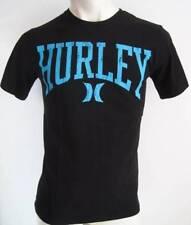 Brand New HURLEY Mens Latest Premium Top T-shirt Tee Size Fox S M L XL XXL black