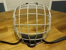 Bauer Nike True Vision Fm2100 Hockey Helmet Cage Black Size Senior Large