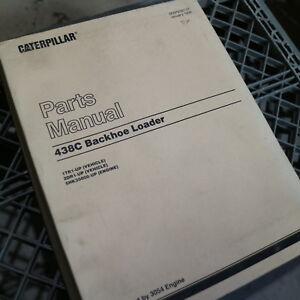 CAT Caterpillar 438c Backhoe Loader Parts Manual Book catalog diesel 3054 engine