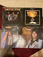 ROCK 4 vinyl LP lot - Jimi Hendrix - Jethro Tull - Eddie Money - B.J. Thomas