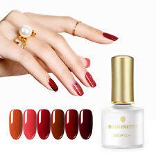 BORN PRETTY 6ml Soak Off Nail UV Gel Polish Cow Blood Red Series Nail Art Gel