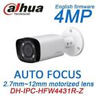 Dahua IPC-HFW4431R-Z 2.8-12mm motorized lens IR 80M Bullet camera H.265 POE 4MP