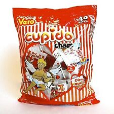2 Bags Vero Paleta Cupido CHAMOY Lollipop//The Original Mexican Candy Dulce 80pz