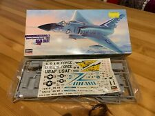 Hasegawa Convair F-106A Delta Dart 1/72nd scale model kit boxed and complete