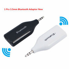 Universal Car Phone Mini 3.5mm Aux Out Wireless Bluetooth V3.0 Adaptor Receiver