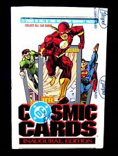 Cosmic  Cards Trading Card Box DC Comics Impel 1991 Superman Wonder Woman Flash
