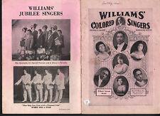 Williams Colored Singers - Williams Jubilee Singers Sheet Music