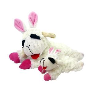 Multipet Lamb Chop Easter Plush Dog Toy     Free Shipping