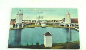 Vintage Early 1900's Postcard Kansas City, Missouri The Lagoon Electric Park