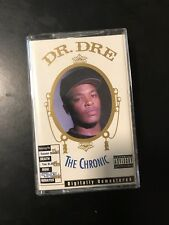 RARE Dr. Dre Chronic Digitally Remastered Cassette Tape Rap Hip Hop NWA Snoop