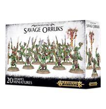 Savage Orruks Bonesplitterz Warhammer Age of Sigmar NIB Flipside