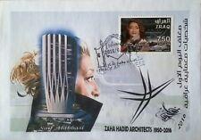 IRAQ_Zaha Hadid Architect 2016 FDC