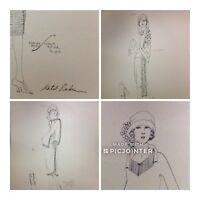 1920's Ethel Rabin Vtg Gatsby Fashion Design ORIGINAL Print~Roaring 20s (aL)