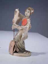 +#A000484 Goebel Archivmuster, FX 4627, Chinesische Frau im Kimono m. Fächer