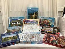10 x 1000 pieces Jigsaw Puzzles Assortment Job Lot Bundle Unchecked - 5