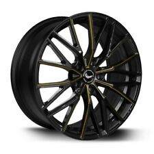 BARRACUDA PROJECT 3.0 Black gloss Flashgold Felge 8,5x18 - 18 Zoll 5x112 ...