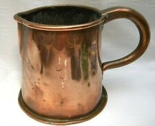 GEORGIAN LARGE COPPER JUG