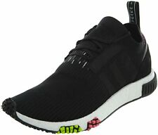 Adidas NMD-Racer Men's Black Primeknit Textile w/ Rubber Sole Running Shoes 10