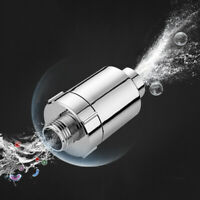 ABS In Line Water Filter Purifier Faucet Shower Head Softener Remove Chlorine