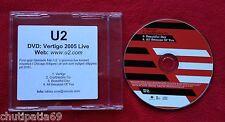 U2 Vertigo Live from Chicago UK Near Mint CD with Promo Sticker #