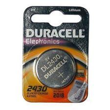Pile bouton Duracell pour équipement audio et vidéo CR2430