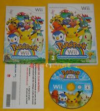 POKEPARK LA GRANDE AVVENTURA DI PIKACHU 1 Wii Vers Italiana VIP New ♦♦♦ COMPLETO
