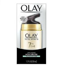 Olay Total Effects 7 in One Anti-Aging Face Moisturizer Fragrance-Free ,1.7 oz.