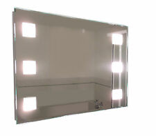 TP24 Central Snaresbrook LED illuminated rectangular bathroom mirror 600 x 900