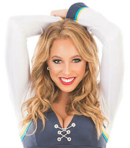 """2017-2018 SAN DIEGO CHARGERS """"Charger Girls"""" CHEERLEADERS Photo Set ALL Uniforms"""