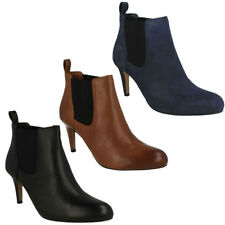 Clarks Pull On Textile Boots for Women
