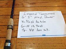 Legend Tournament spinning rod med. power X- fast