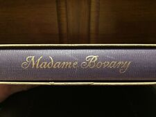 Madame Bovary by Gustave Flaubert Heritage Press 1950 with Sandglass