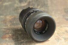 Vintage Lens Helios-33 f/2.0  35 mm KMZ Filming lens