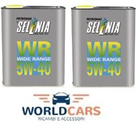 4 LITRI OLIO MOTORE SELENIA WR WIDE RANGE 5W-40 5W40 4 LT FIAT ALFA ROMEO LANCIA