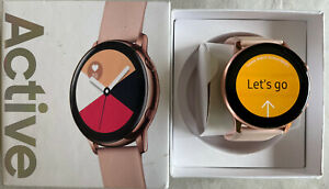 Samsung Galaxy Watch Active 2019 SM-R500 4GB Smartwatch Rose Gold