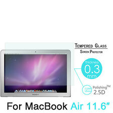 9H Premium Real Tempered Glass Screen Protector Film For Apple MacBook Air 11.6""