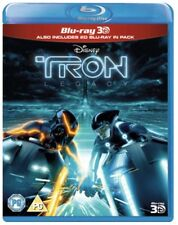 Tron Legacy [Blu-ray 3D] [Region Free], 8717418384005, Jeff Bridges, Garrett He.