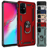 For Samsung Galaxy S20 Ultra S10 S9 S8 Plus Note 10 9 Ring Kickstand Case Cover