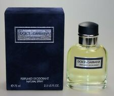 D&G Dolce & Gabbana Pour Homme 75ml Perfumed Deodorant Spray